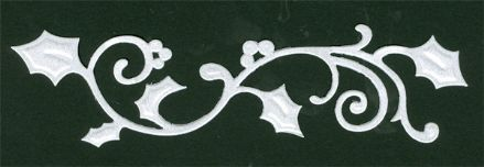 CTDI 7051 ~ HOLLY BORDER ~ Crafts Too Cut + Emboss Die